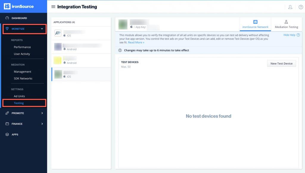 ironsource-integration-testing-module-1