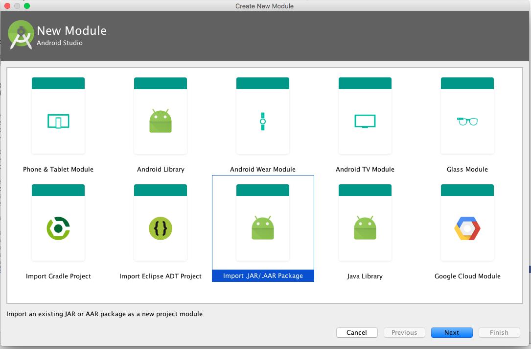 android-studio-aar-integration
