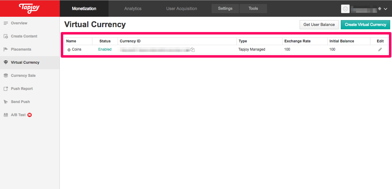 ironSource TJ Enabled Virtual Currency
